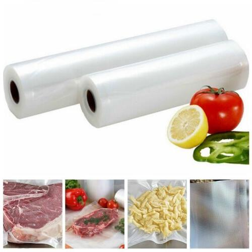 6 sizes vacuum food saver bags roll