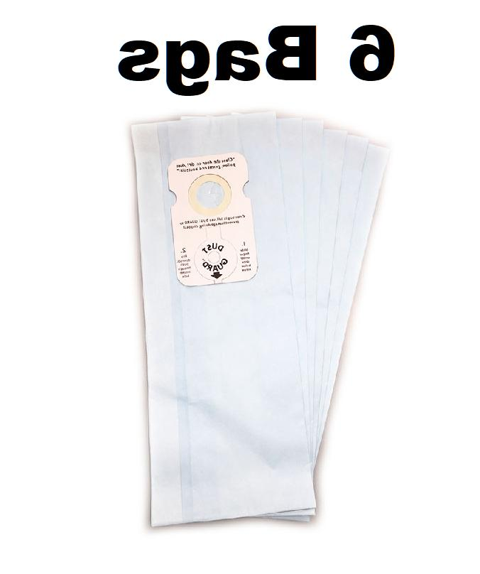 6 Vacuum Bags for Riccar Type B for 8000 and 8900 Series