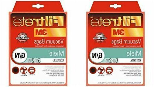Miele 68705, G/N Synthetic Bags and Filters by Filtrete, 10