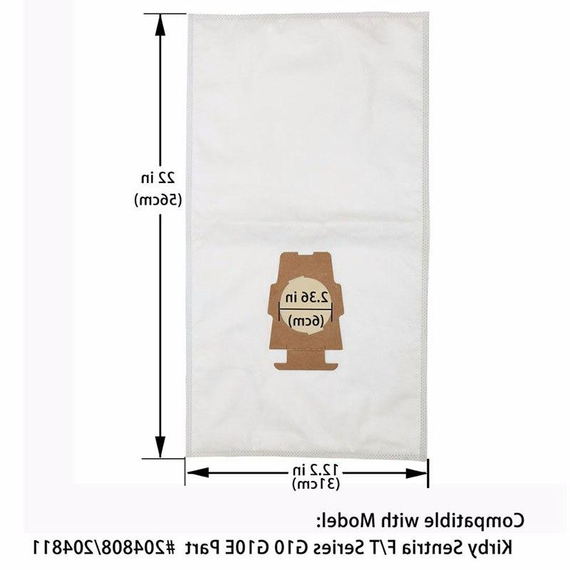 6PCS Dust Cloth <font><b>Bag</b></font> <font><b>Kirby</b></font> 204808/204811 Universal F/T G10 G10E Parts