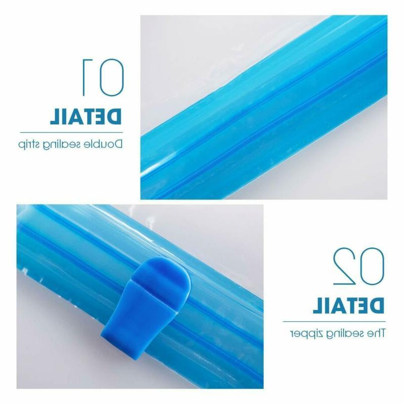 8x Travel Roll-up Compression Storage Travel Space Saver Vacuum Bags