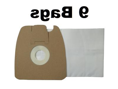 9 Allergy Bags for Sanitaire Type MM Canister Vacuum Cleaner