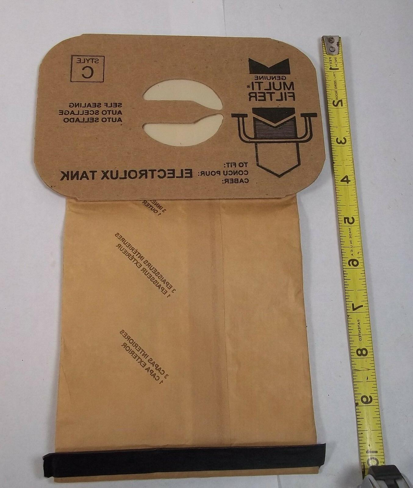 9 Electrolux Style Vacuum Vac Filter Replacement Bag