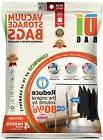 DIBAG - pack of 4 - Tall Hanging Vacuum Storage Space Saver