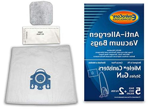 Envirocare Replacement Anti Allergen Bags For Miele
