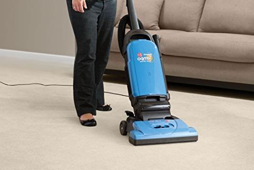 Hoover WidePath Bagged Corded Upright Vacuum