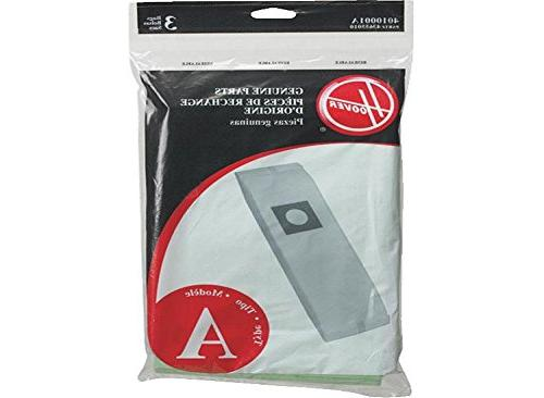 Hoover Type A Upright Top Fill Paper Bags 3 PK Genuine OEM #