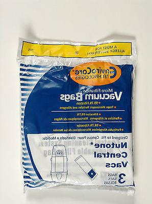 central vacuum cleaner replacement bags 391