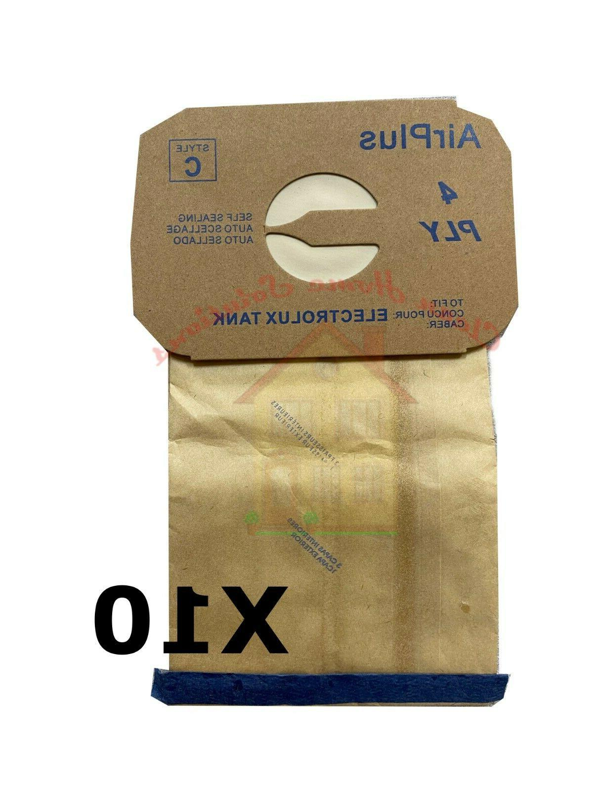 electrolux style c vacuum bag canister vac