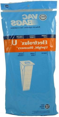 Electrolux Upright Disposable Paper Bags Style U,Multi-filte