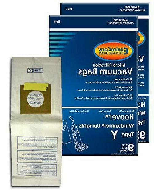 Envirocare  Micro Filtration Vacuum Bags For Hoover Windtunn