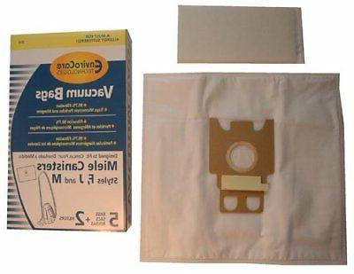 EnviroCare Bags for Miele F M Microfiltration Vacuum 5 Filters