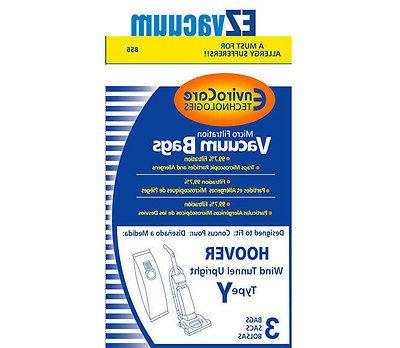 Generic Hoover Y,Z Micro-Filtration Vacuum Bags Part no # 40