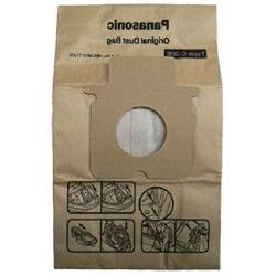 Package of 5 Genuine Panasonic Type C17 & C20 Bags Manufactu