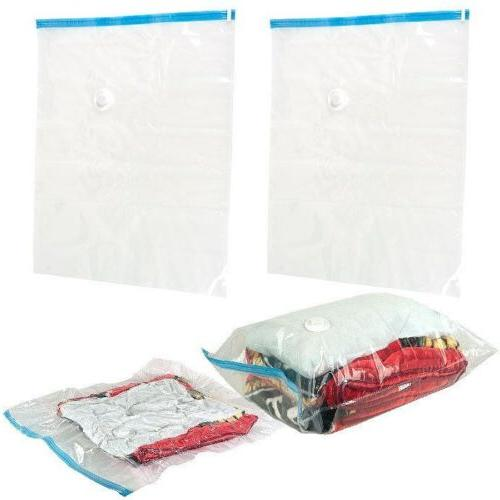 Gigantic Space Saving Vacuum Bags - NO BOX - Works With Any