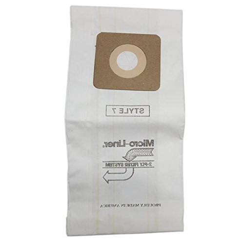 Home Products 447927 Bissell Style 1 Style Microlined Cleaner Bags,