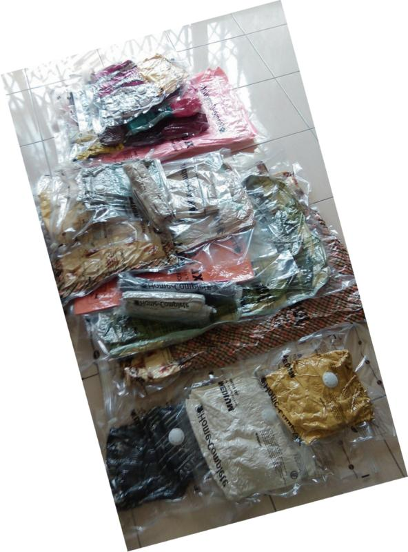 Home-Complete Storage Bundle Saver Bags and Travel Pu