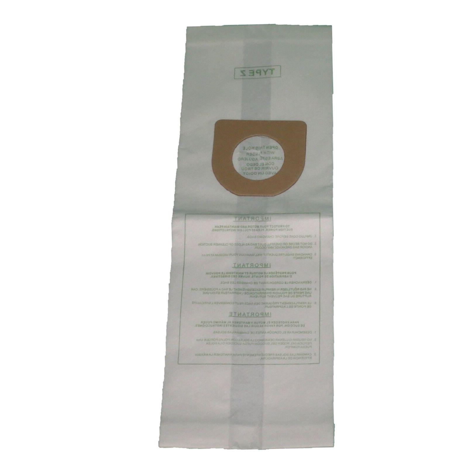 Hoover Type Y/Z Windtunnel Upright Vacuum Cleaner Bags Style