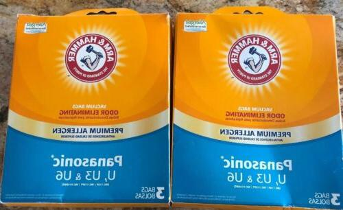 lot of 2 arm and hammer panasonic