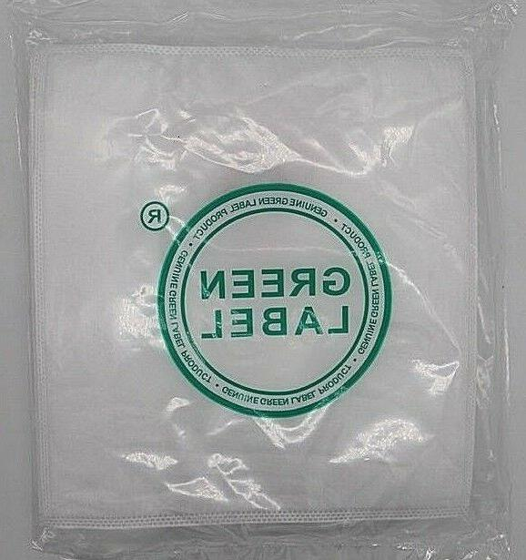 Green Filter Bags For Canister Vacuums
