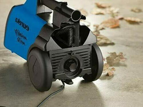 Mighty 3670H Mite Canister Vacuum Cleaner, w/ Blue