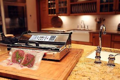 """Weston Pro-3500 Commercial Vacuum Sealer, 15"""" Stainless"""