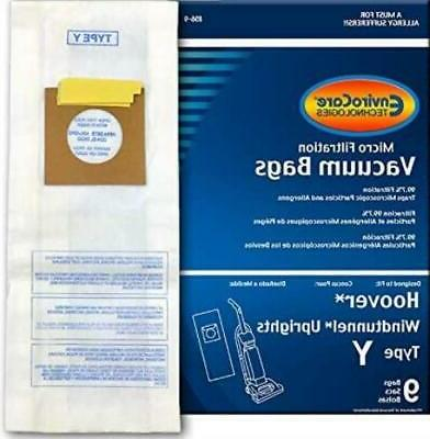 replacement vacuum bags for hoover type y