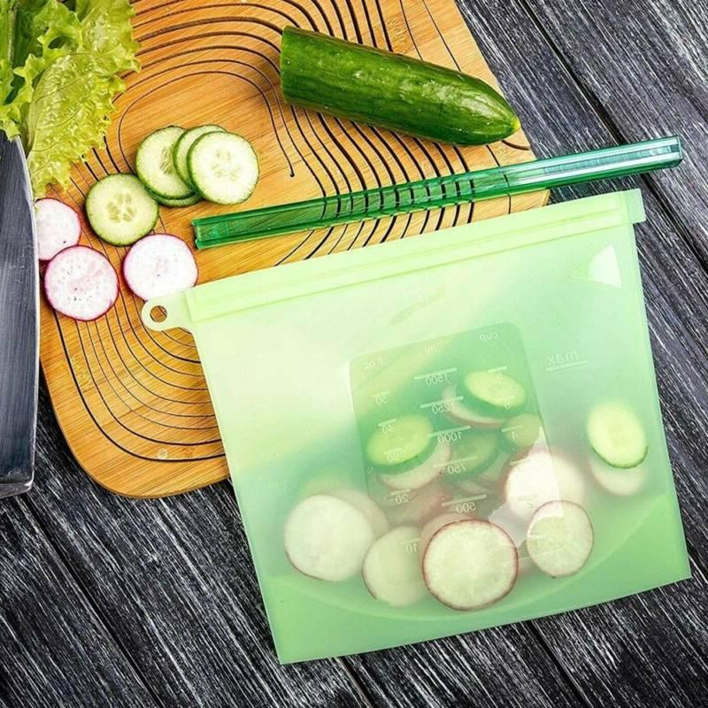 Reusable Storage Container Seal Bags