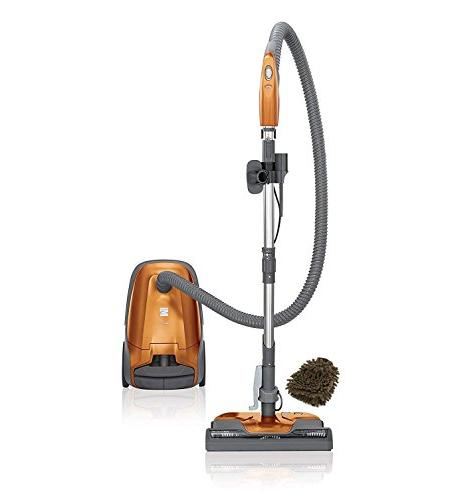 series bagged canister vacuum cleaner