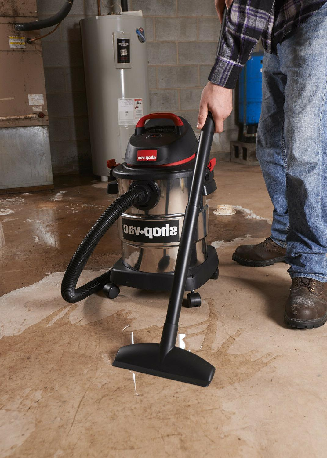 Shop-Vac Stainless Steel Wet Cleaner
