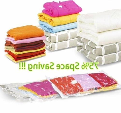 Space Saver Saving Vacuum Clothing Storage Compressed Bag