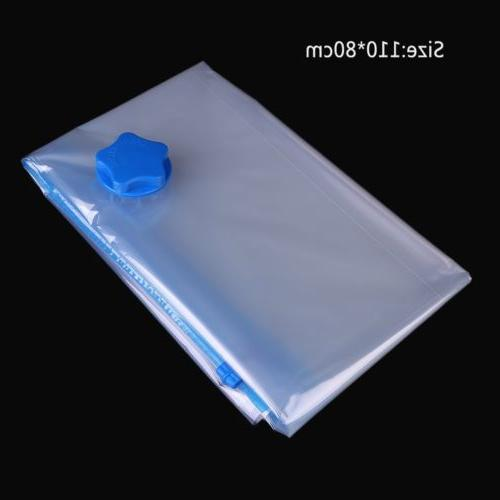 Space Saving Vacuum Clothing Compressed Bag Organizer Bags