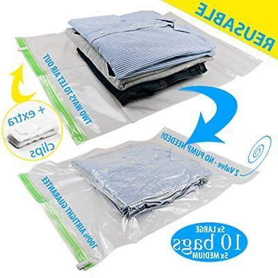 space saver vacuum bags compression