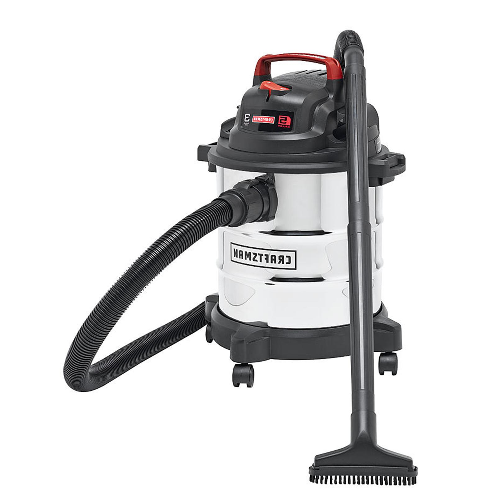 Craftsman Stainless Steel Dry Vacuum HP