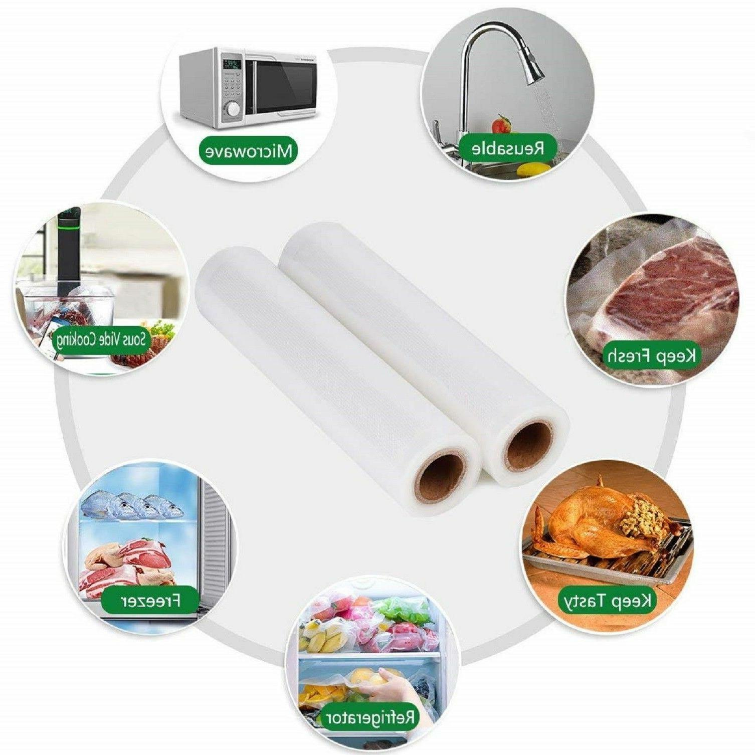 Vacuum Rolls Food Magic Seal Storage Food! Great $$ Saver