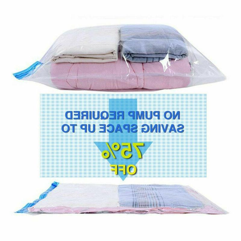 8x Travel Seal Compression Space Saver No Bags