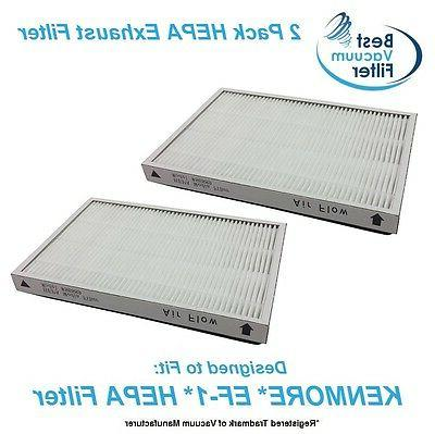 2 HEPA Exhaust Vacuum Filter for Kenmore EF-1 replace 20-532