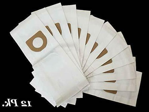 Hoover Type Vacuum Bags 12pk Ply System !