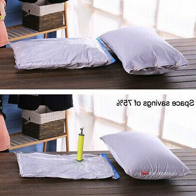 Vacuum Storage Bags Seal Space Hoover Clothes Tight