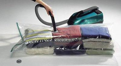 Vacuum Storage Bags to Space Saver for Bedding, Pillows, Tow