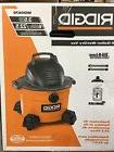 RIDGID WD0670 6 gal. 3.5-Peak HP Wet Dry Vacuum Cleaner