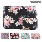 Mosiso Women Floral Laptop Sleeve Bag for Macbook Pro Air 13
