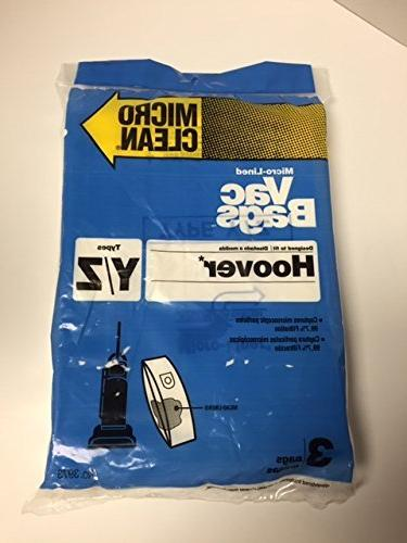 y windtunnel upright vacuum bags
