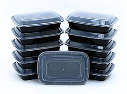 BlacWare  28oz Meal Prep 1 Compartment Food Storage Containe
