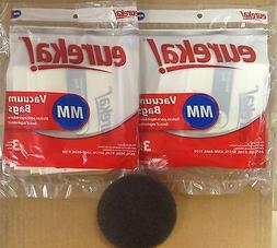 Eureka MM Vacuum Bags  Genuine Part #60295C + Free Filter
