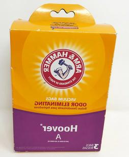 Arm & Hammer Odor Eliminating Vacuum Bags Hoover A 62601D -