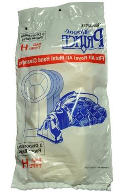 Genuine Royal Prince Hand Held 3 Disposable Paper Bags Type