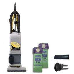 ProTeam ProForce 1200XP Bagged Upright Vacuum Cleaner with H