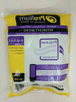 ProTeam 107314 Intercept Micro Filter Bags with Open Collar