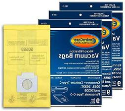 Envirocare Replacement Vacuum Bags For Kenmore Canister Type